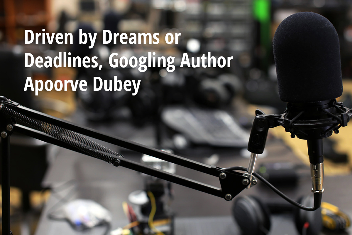 exclusive interview of IIT entrepreneur & bestselling author Apoorve Dubey